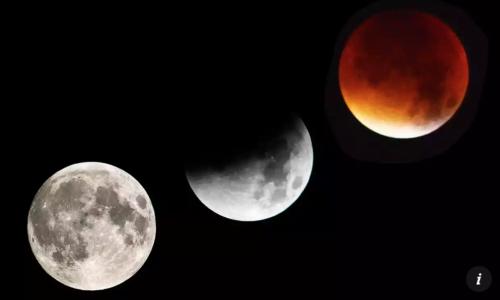スーパーブルーブラッドムーン(皆既月食)とは 時間,場所は?【画像】2018スピリチュアルな奇跡!
